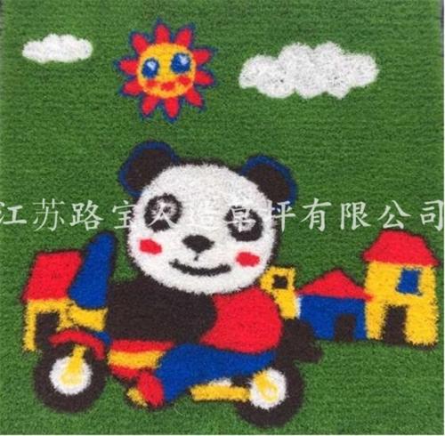 幼儿园人造景观草坪
